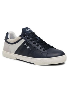 Pepe Jeans Pepe Jeans Sneakersy Rodney Sport PMS30709 Tmavomodrá