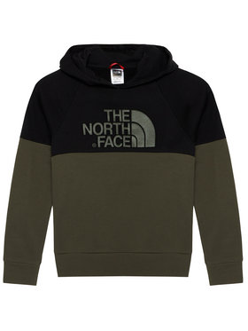 The North Face The North Face Bluza Drew Peak Reglan NF0A3L6KBQW1 Zielony Regular Fit