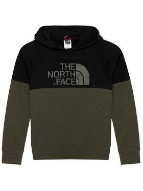 The North Face The North Face Majica dugih rukava Drew Peak Reglan NF0A3L6KBQW1 Zelena Regular Fit