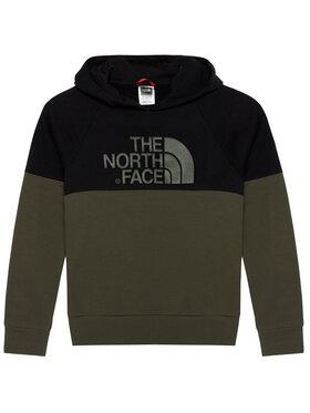 The North Face The North Face Sweatshirt Drew Peak Reglan NF0A3L6KBQW1 Grün Regular Fit
