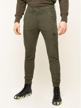 Calvin Klein Jeans Calvin Klein Jeans Spodnie materiałowe J30J314207 Regular Fit