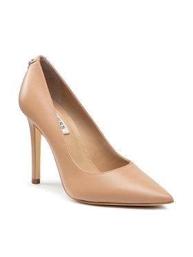 Guess Guess Обувки на ток Gavi9 FL7GA9 LEA08 Бежов