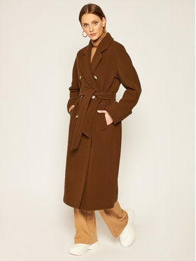 Marc O'Polo Marc O'Polo Tenchcoat 008 0133 71195 Braun Regular Fit