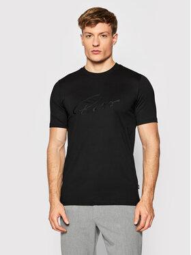 Boss Boss T-Shirt Tiburt 256 50458117 Czarny Regular Fit