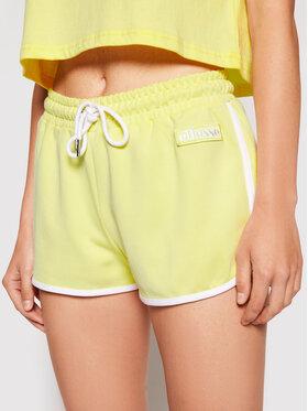 Ellesse Ellesse Sportske kratke hlače Vediamo SGJ11886 Žuta Regular Fit