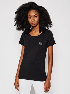 Liu Jo Sport Liu Jo Sport T-Shirt TA1092 J5003 Černá Slim Fit