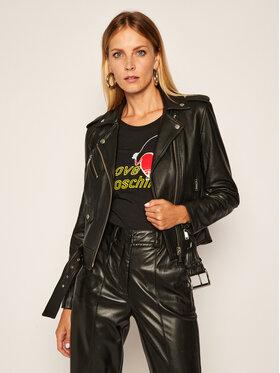 MICHAEL Michael Kors MICHAEL Michael Kors Prijelazna jakna Biker MB92HYG8FX Crna Slim Fit