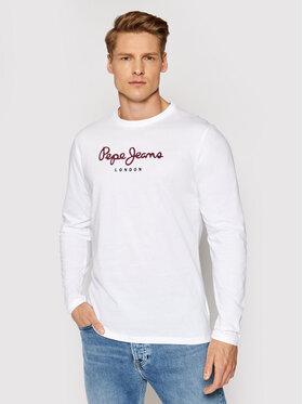 Pepe Jeans Pepe Jeans Longsleeve Eggo Long PM501321 Bianco Regular Fit