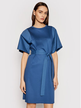 Weekend Max Mara Weekend Max Mara Rochie de zi Lari 56210211 Bleumarin Regular Fit