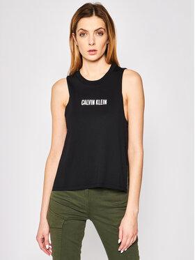 Calvin Klein Swimwear Calvin Klein Swimwear Топ Beach KW0KW01009 Черен Regular Fit