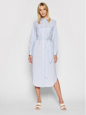 Lauren Ralph Lauren Lauren Ralph Lauren Sukienka koszulowa 200831977001 Niebieski Regular Fit