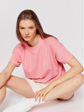 Sprandi Sprandi T-shirt SS21-TSD007 Rosa Regular Fit