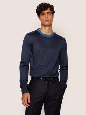 Boss Boss Marškinėliai ilgomis rankovėmis Tenison 29 50436649 Tamsiai mėlyna Slim Fit