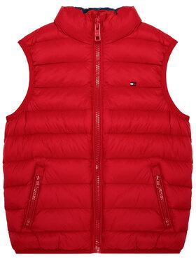 TOMMY HILFIGER TOMMY HILFIGER Γιλέκο U Light Down KS0KS00127 M Κόκκινο Regular Fit