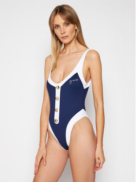 Guess Guess Costum de baie One Piece E1GJ12 MC046 Bleumarin