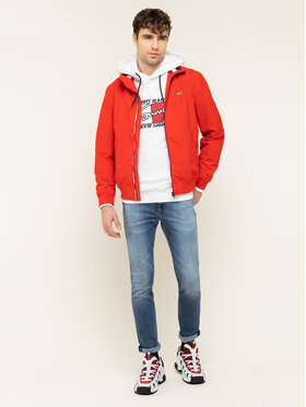 Tommy Jeans Tommy Jeans Geacă bomber Essential DM0DM07366 Roșu Regular Fit