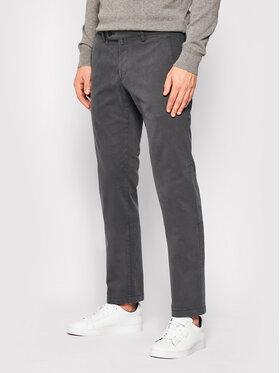 Digel Digel Bavlnené nohavice Logo-G 88140 Sivá Modern Fit