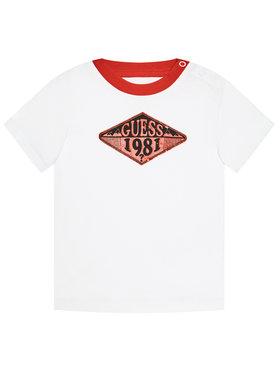 Guess Guess Marškinėliai N1GI10 K8HM0 Balta Regular Fit