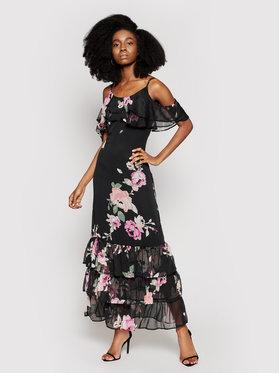 Guess Guess Sukienka letnia Agathe W1GK1F WDW52 Czarny Regular Fit