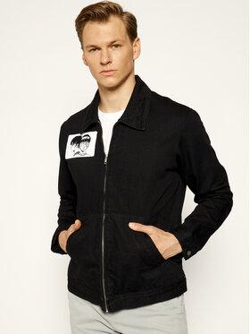 Edwin Edwin Kurtka jeansowa Apollo Thomas Drizzler I028029 TJ0753Q 8902 Czarny Regular Fit
