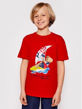 Polo Ralph Lauren Polo Ralph Lauren T-shirt Ss Cn 323838249003 Rouge Regular Fit