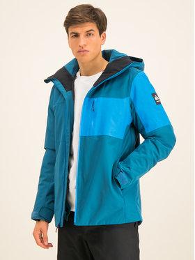 Quiksilver Lyžiarska bunda Mission Plus EQYTJ03215 Modrá Slim Fit