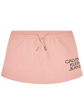 Calvin Klein Jeans Calvin Klein Jeans Fustă Hybrid Logo IG0IG00990 Roz Regular Fit