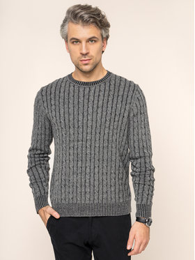 Digel Digel Pull 1298008 Gris Regular Fit