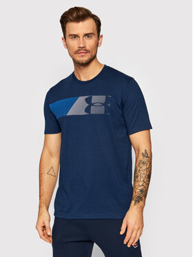 Under Armour Under Armour Тишърт Ua Fast Left Chest 1329584 Тъмносин Loose Fit
