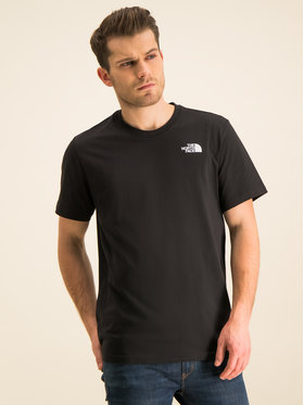 The North Face The North Face T-Shirt Redbox NF0A2TX2JK3 Μαύρο Regular Fit