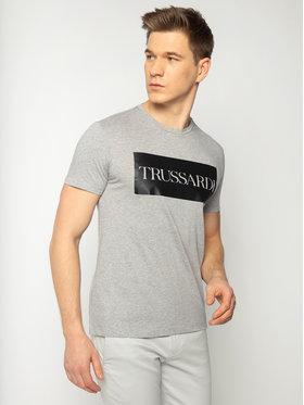Trussardi Jeans Trussardi Jeans T-Shirt 52T00312 Grau Regular Fit