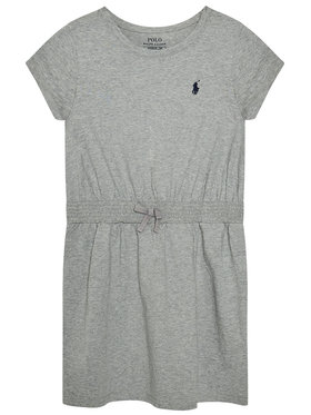 Polo Ralph Lauren Polo Ralph Lauren Každodenné šaty Play 313837203004 Sivá Regular Fit