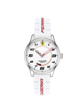 Scuderia Ferrari Scuderia Ferrari Zegarek Pitlane 860014 Biały