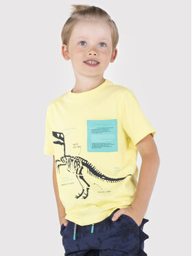 Coccodrillo Coccodrillo T-shirt ZC1143202DIN Giallo Regular Fit