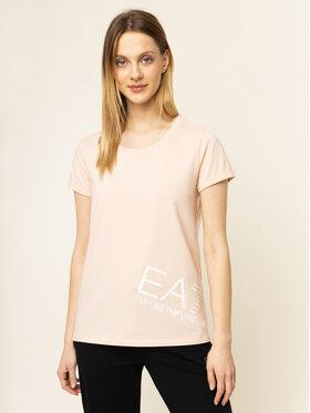 EA7 Emporio Armani EA7 Emporio Armani T-shirt 3HTT02 TJ29Z 1690 Beige Regular Fit