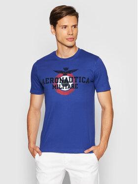 Aeronautica Militare Aeronautica Militare T-Shirt 212TS1901J511 Fioletowy Regular Fit