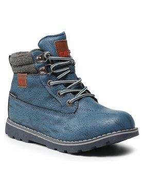 CMP CMP Šnurovacia obuv Kids Thuban Lifestyle Shoes Wp 39Q4944 Modrá