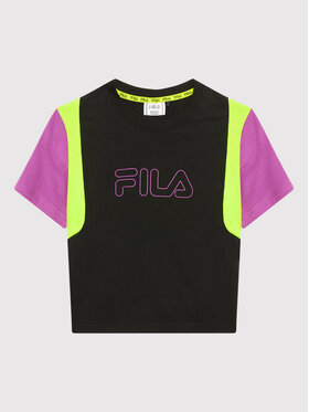 Fila Fila T-shirt Samara Blocked 683419 Crna Regular Fit