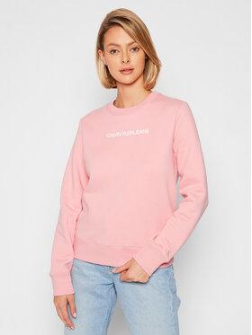 Calvin Klein Jeans Calvin Klein Jeans Bluza J20J216537 Różowy Regular Fit