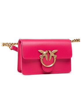 Pinko Pinko Дамска чанта Love Baby Icon Simply 1 Cl PE 21 PLTT 1P221F Y6XT Розов