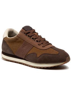 Polo Ralph Lauren Polo Ralph Lauren Sneakers Train 90 809830115002 Marron