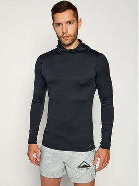 Under Armour Under Armour Bluza techniczna Fitted Hoodie 1320814 Czarny Regular Fit