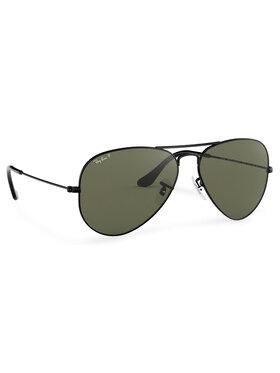 Ray-Ban Ray-Ban Okulary przeciwsłoneczne Aviator Large Metal 0RB3025 002/58 Czarny