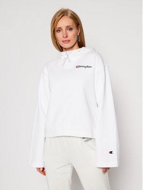 Champion Champion Sweatshirt Hooded 113186 Blanc Custom Fit