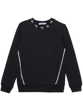Calvin Klein Jeans Calvin Klein Jeans Bluza Monogram Stretch IG0IG00830 Czarny Regular Fit