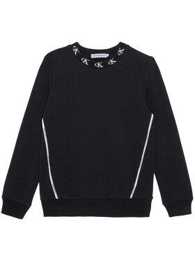 Calvin Klein Jeans Calvin Klein Jeans Pulóver Monogram Stretch IG0IG00830 Fekete Regular Fit
