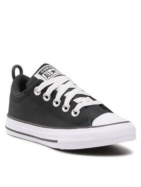 Converse Converse Кецове Ctas Street Slip 671650C Черен