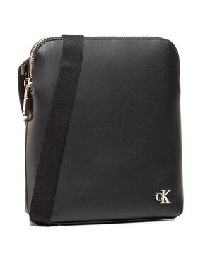 Calvin Klein Calvin Klein Saszetka Micro Flatpack W/Pckt Smo K50K506160 Czarny