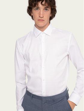 Hugo Hugo Marškiniai Koey 50431357 Balta Slim Fit