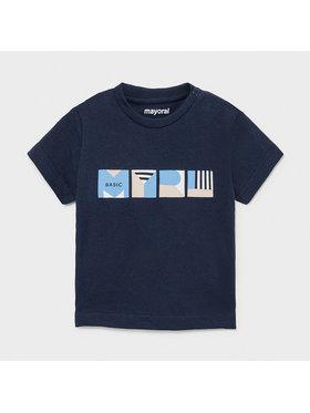 Mayoral Mayoral T-Shirt 106 Granatowy Regular Fit